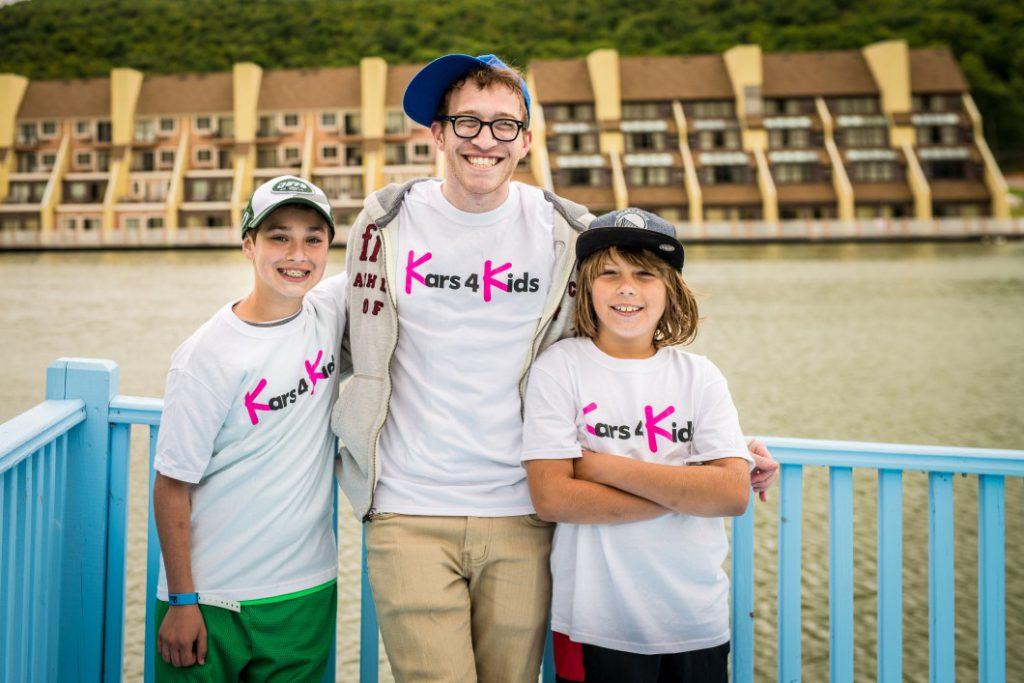 kars4kids employee with 2 kids