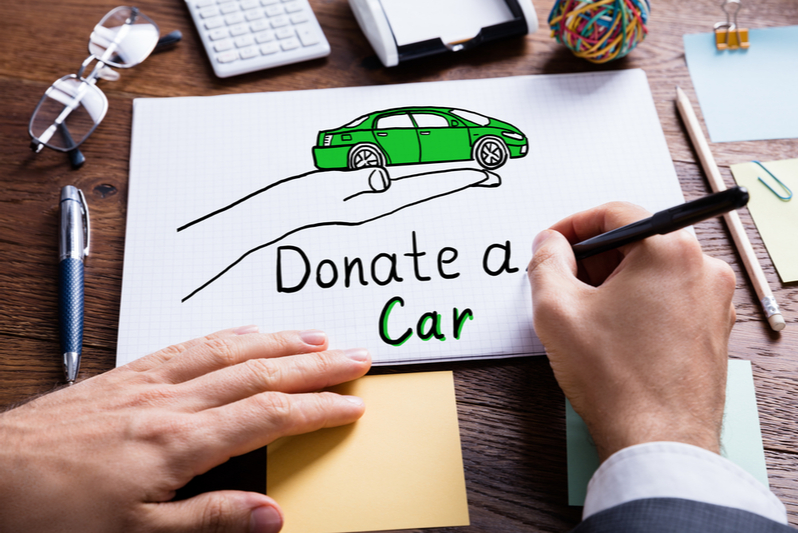 donate a car drawing