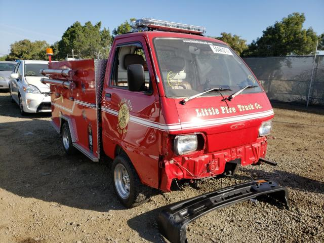 Miniature firetruck donation