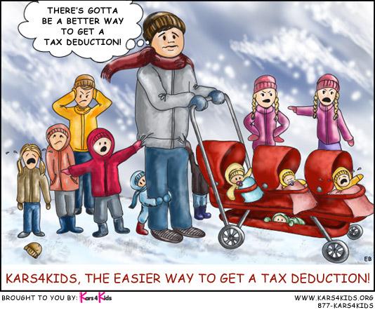 get an easy tax deduction kars4kids blog