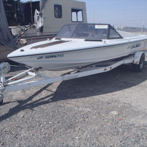 donated boat from Roseville, CA