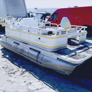 donated boat from Naples, FL