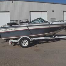 donated boat from  Chisago City, MN