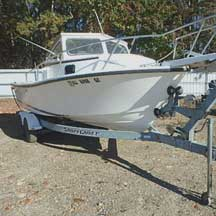 donated boat from Lovettsville, VA