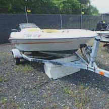 donated boat from Trumbull, CT