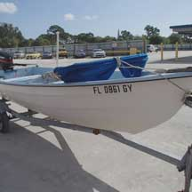 donated boat from Melbourne Beach, FL