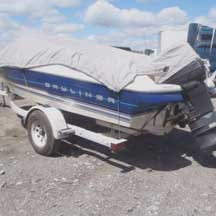 donated boat from Palos Heights, IL