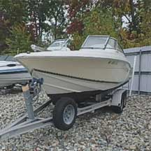 donated boat from Wayland, MA