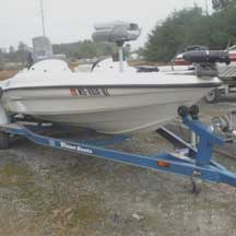 donated boat from Marlboro, MD