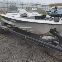 donated boat from Jackson, MI