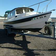 donated boat from Paso Robles, CA