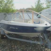 donated boat from Hull, MA