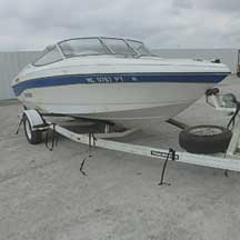 donated boat from Tomball, TX