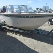 donated boat from Escalon, CA
