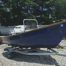 donated boat from Bristol, RI
