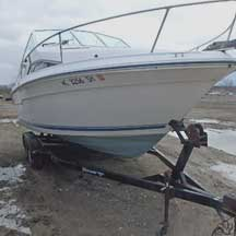 donated boat from Grosse Ile, MI