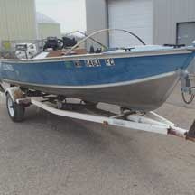 donated boat from Rogers, MN