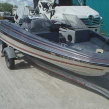 donated boat from Austin, TX