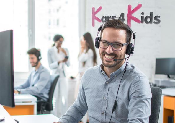 car donation customer support representative at kars4kids